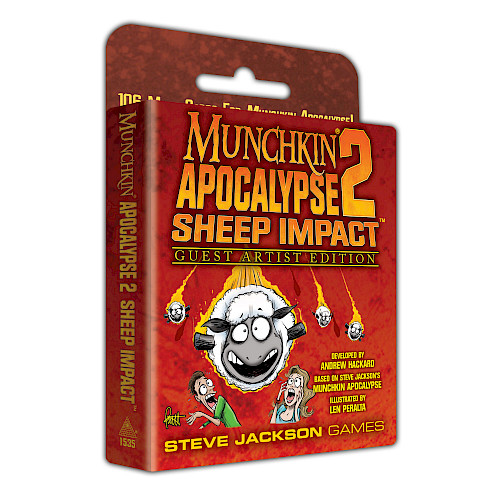 Munchkin Apocalypse 2 — Guest Artist Edition cover