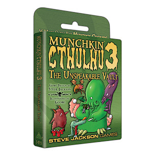 Munchkin Cthulhu 3 — The Unspeakable Vault cover