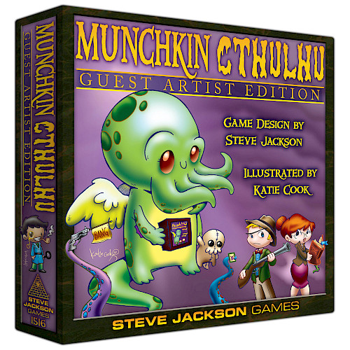 Munchkin Cthulhu Guest Artist Edition cover