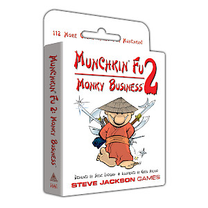 Munchkin Fu 2 — Monky Business cover