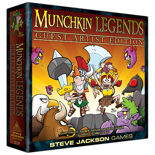 Munchkin Legends Guest Artist Edition cover