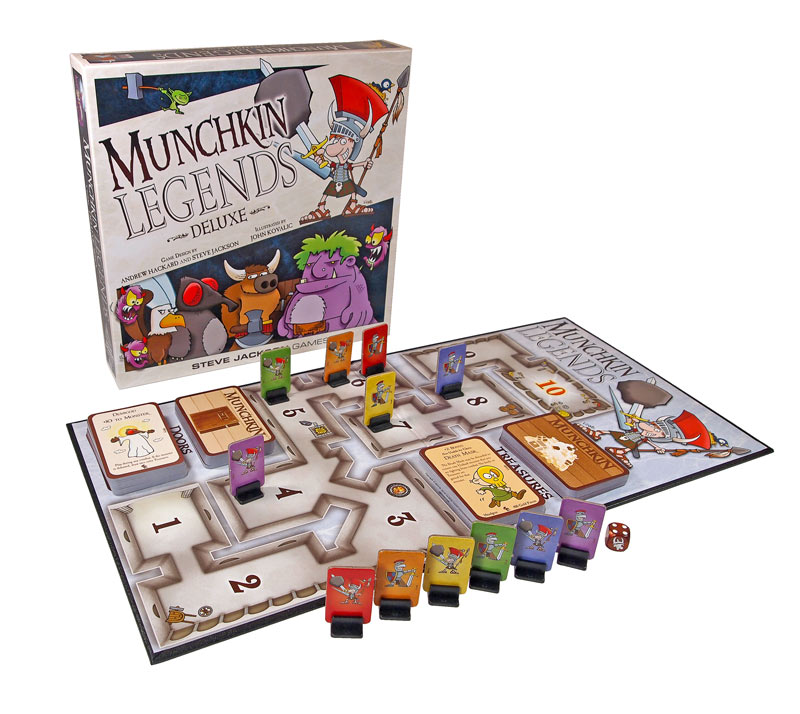 Munchkin deluxe board game board games messiah.