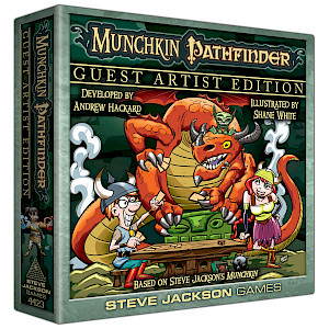 Munchkin Pathfinder Guest Artist Edition cover