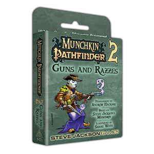 Munchkin Pathfinder 2 — Guns and Razzes cover