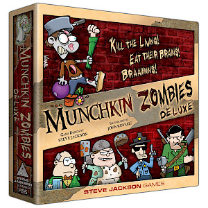 Munchkin Zombies Deluxe cover