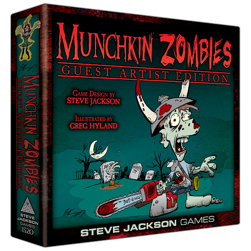 Munchkin Zombies Guest Artist Edition cover