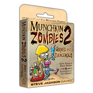 Munchkin Zombies 2 — Armed and Dangerous cover