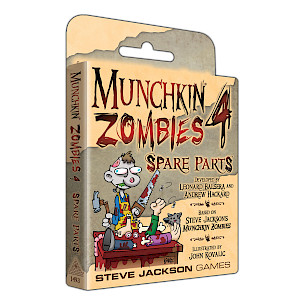 Munchkin Zombies 4 — Spare Parts cover
