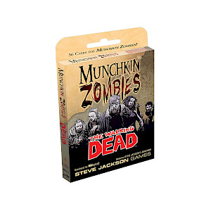 Munchkin Zombies: The Walking Dead cover