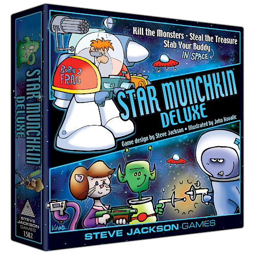Star Munchkin Deluxe cover