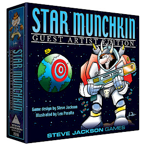 Star Munchkin Guest Artist Edition cover