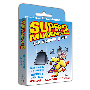 Super Munchkin 2 — The Narrow S Cape cover