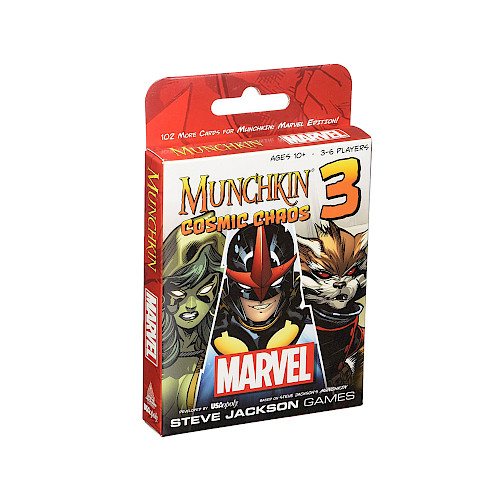Munchkin Marvel 3: Cosmic Chaos cover