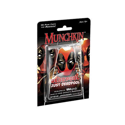 Munchkin Deadpool: Just Deadpool cover