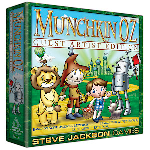 Munchkin Oz Guest Artist Edition cover