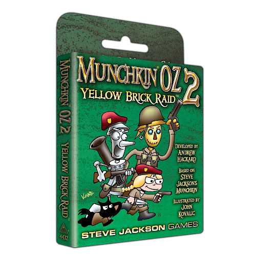 Munchkin Oz 2 - Yellow Brick Raid