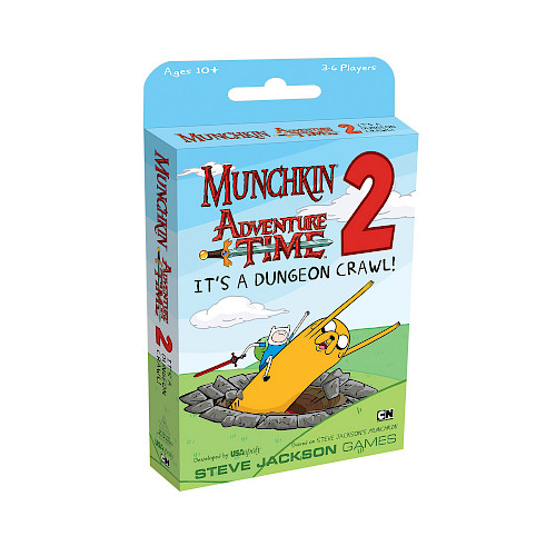 Munchkin Adventure Time 2 — It's a Dungeon Crawl! cover
