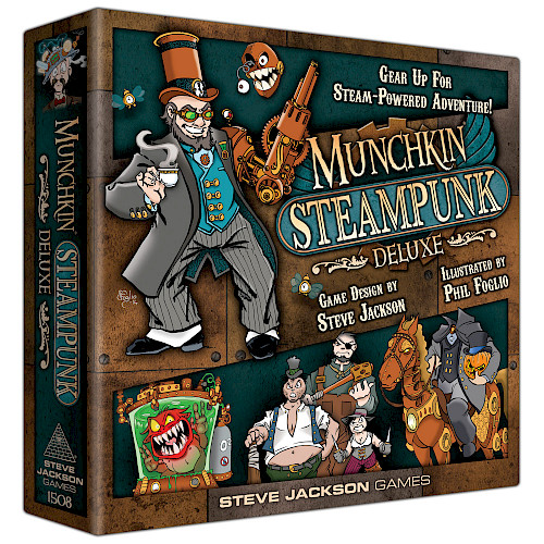Munchkin Steampunk Deluxe cover