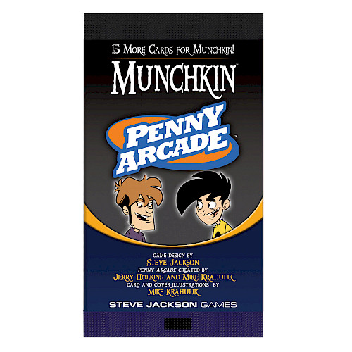 Munchkin Penny Arcade cover