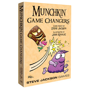 Munchkin Game Changers cover