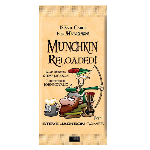 Munchkin Reloaded cover
