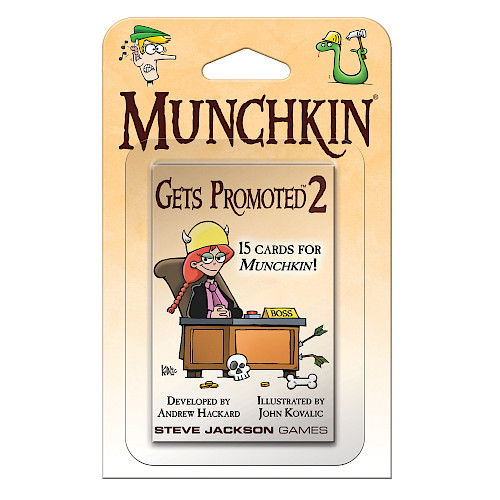 Munchkin Gets Promoted 2 cover