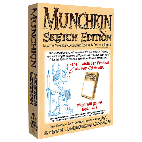 Munchkin Sketch Edition cover