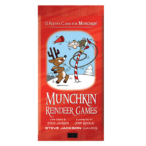 Munchkin Reindeer Games cover