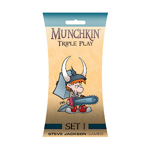 Munchkin Triple Play Set 1 cover
