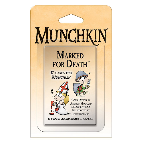Munchkin Marked for Death cover