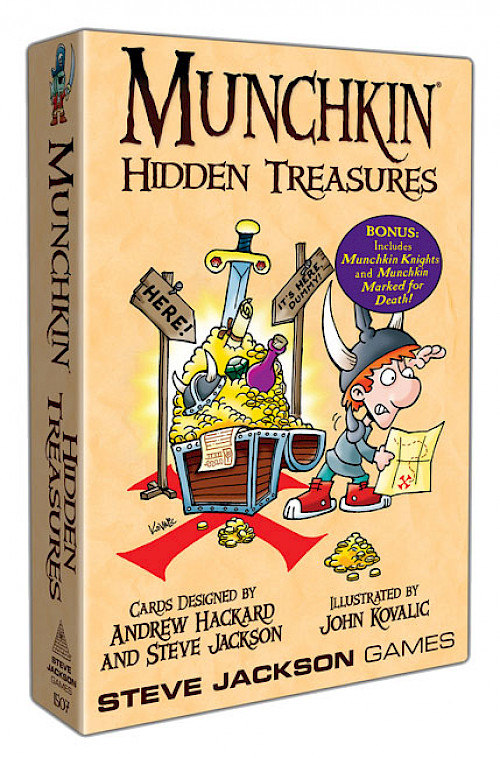 Munchkin Hidden Treasures cover