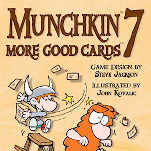Munchkin 7 — More Good Cards cover