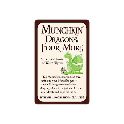 Munchkin Dragons: Four More cover