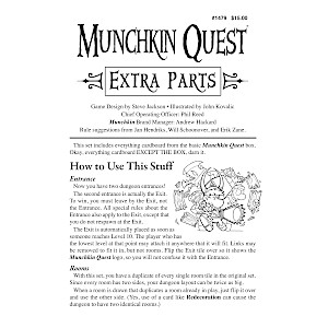 Munchkin Quest Extra Parts cover