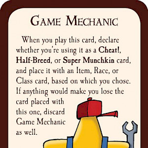 Game Mechanic Munchkin Promo Card cover