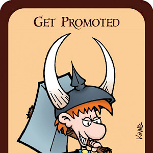 Get Promoted Munchkin Promo Card cover