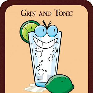 Grin and Tonic Munchkin Promo Card cover