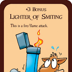 Lighter of Smiting Munchkin Promo Card cover