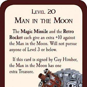 Man in the Moon Munchkin Promo Card cover