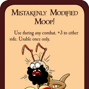 Mistakenly Modified Moop! Munchkin Promo Card cover