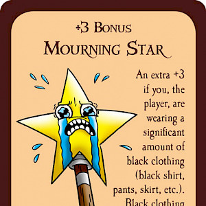 Mourning Star Munchkin Promo Card cover