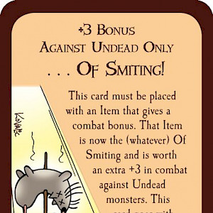 . . . Of Smiting! Munchkin Promo Card cover