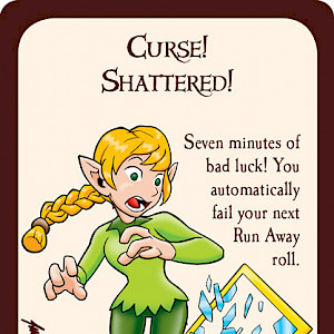 Curse! Shattered! Munchkin Promo Card cover