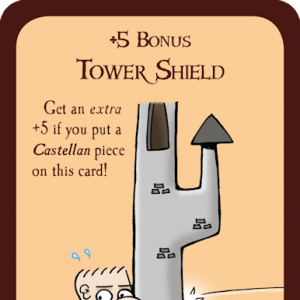 Tower Shield Munchkin Promo Card cover