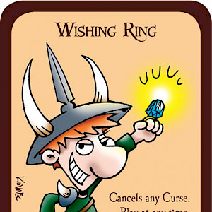 Wishing Ring Munchkin Promo Card cover