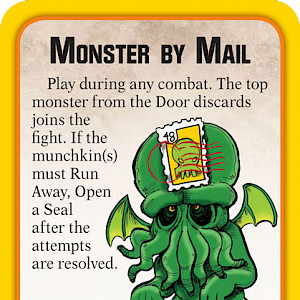 Monster by Mail Munchkin Apocalypse Promo Card cover