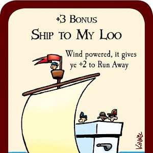 Ship to My Loo Munchkin Booty Promo Card cover