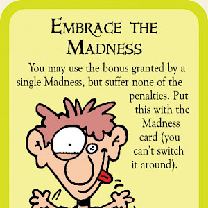 Embrace the Madness Munchkin Cthulhu Promo Card cover