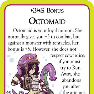 Octomaid Munchkin Cthulhu Promo Card cover