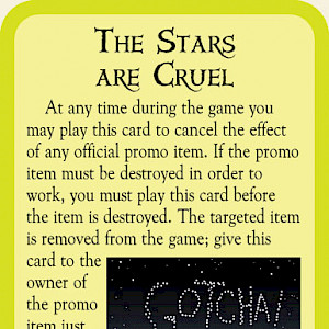 The Stars are Cruel Munchkin Cthulhu Promo Card cover